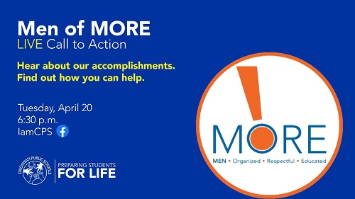 Men Of More Live Call to Action